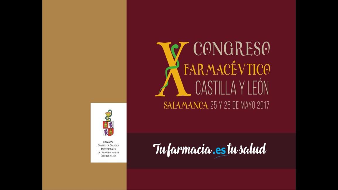 X Congreso FARMACÉUTICO DE CASTILLA YLEÒN