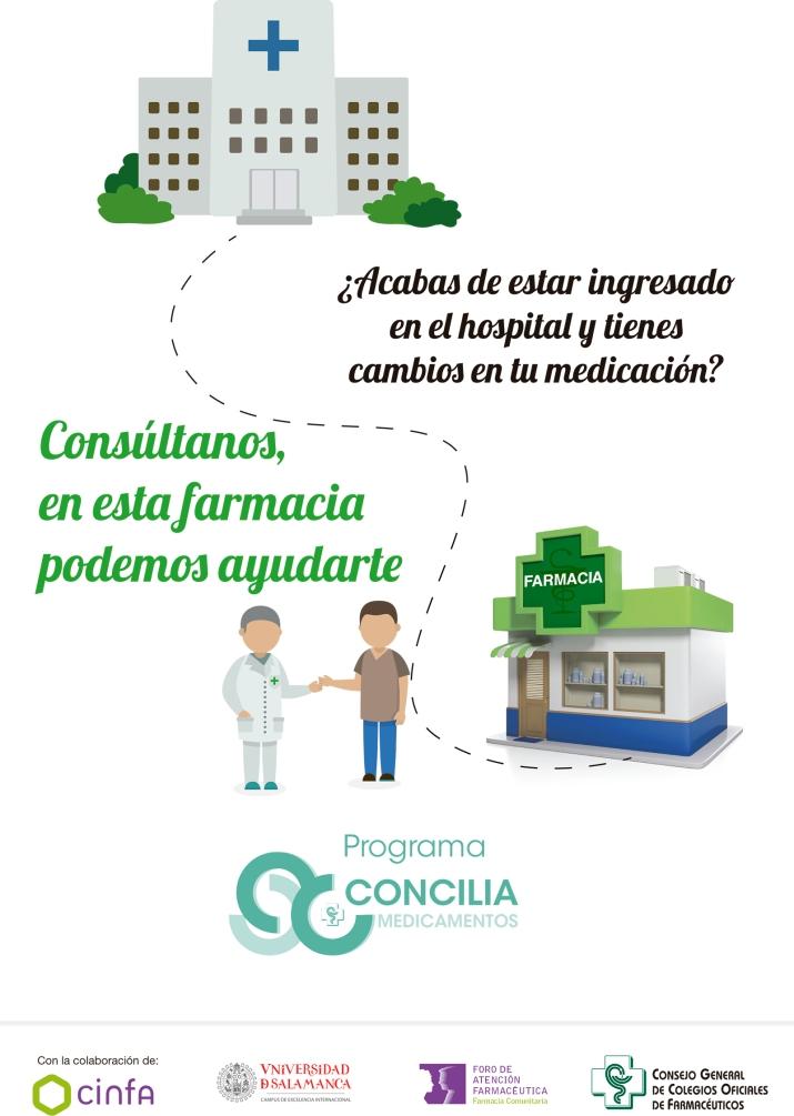 Farmacia y Tecnología - Universidad de Salamanca - Ana Martín - Concilia Cartel